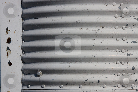 Paint peeling off stock photo, Closeup of the lighthouse with the white painting peeling off the metal surface by Fabio Katz
