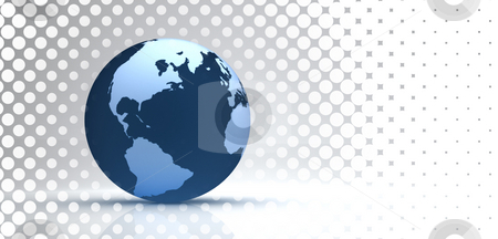 3d globe stock photo,  by Christophe Rolland