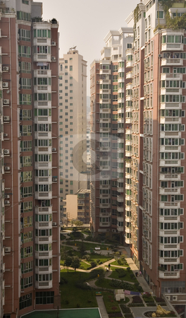 Very High Apartment Buildings Guiyang, Guizhou, China stock photo, Very High Residential Apartment Buildings, Guiyang, Guizhou, China by William Perry
