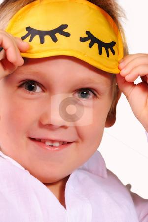 Smiling young boy stock photo, Smiling young boy by Roman Kalashnikov