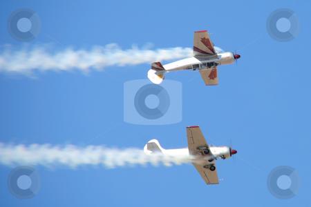 Aero show stock photo, Acrobatic Aero show in UAE by Roman Kalashnikov