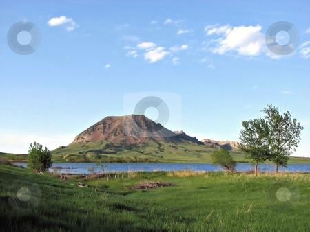 Bear Butte stock photo, Taken near newell South Dakota Close To Sturgis South Dakota! by Brian Meyer