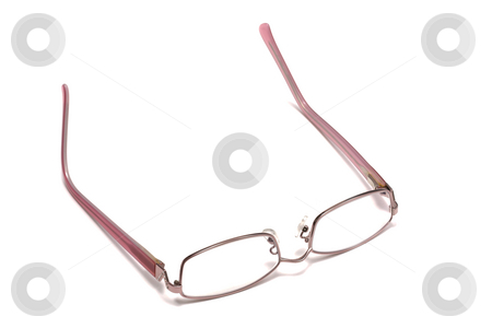Glasses stock photo, Glasses isolated on white by Ingvar Bjork