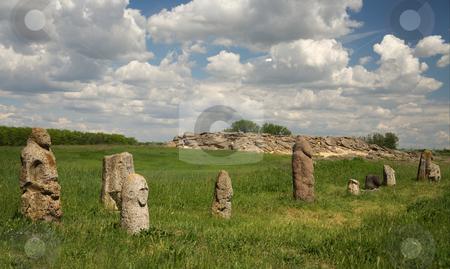Stone grave stock photo, The