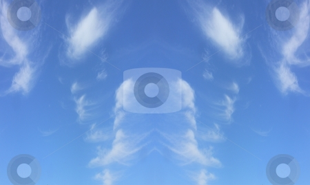 Formations of water vopur stock photo, Atmospheric clouds in different formations by Gary Nicolson