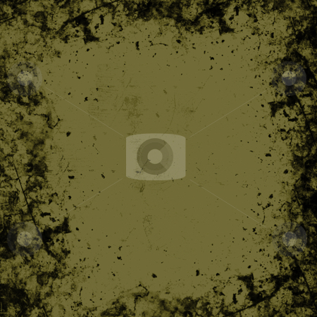 Grunge Border stock photo, A brownish grunge texture background with scratch marks and a very fine checkered pattern at full view. by Todd Arena