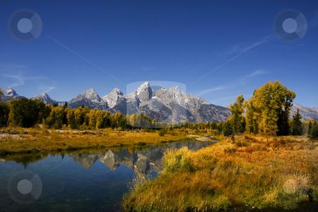 Grand Teton National Park stock photo, Fall beauty of Grand Teton National Park by Mark Smith
