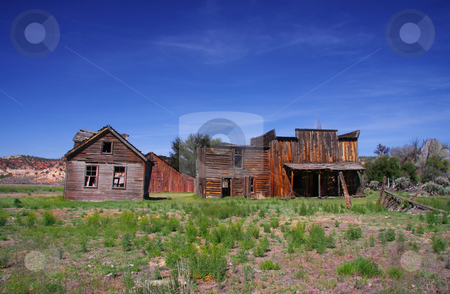 Gunsmoke Movie Set stock photo, Gunsmoke Movie set in Southern Utah by Mark Smith