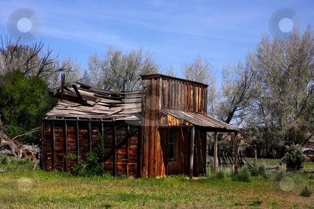 AMericana Gunsmoke Movie Set stock photo, Gunsmoke Movie set in Southern Utah by Mark Smith