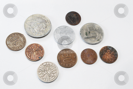 Old coins stock photo,  by Sarka