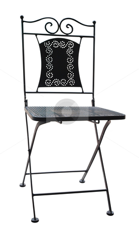 Decorative Chair stock photo, Decorative Chair isolated with clipping path. by Margo Harrison