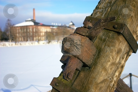 Old anchor stock photo,  by Turo Jantunen