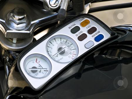 Bike speed counter stock photo, Close up photo of the bike speed counter by Sergej Razvodovskij