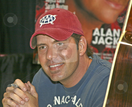Rodney Atkins - CMA Festival 2009 stock photo, Rodney Atkins at the CMA Festival 2009 in Nashville, Tennessee signing autographs by Dennis Crumrin