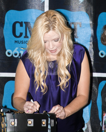 Melissa Peterman - CMA Festival 2009 stock photo, Melissa Peterman at the CMA Festival 2009 in Nashville, Tennessee signing autographs by Dennis Crumrin