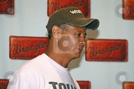 Neal McCoy - CMA Music Festival 2009 stock photo, Neal McCoy at the CMA Festival 2009 in Nashville, Tennessee signing autographs by Dennis Crumrin
