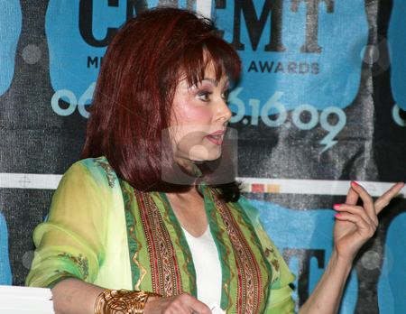 Naomi Judd - CMA Music Festival 2009 stock photo, Naomi Judd at the CMA Festival 2009 in Nashville, Tennessee signing autographs by Dennis Crumrin