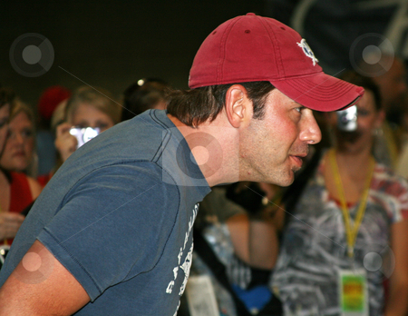 Rodney Atkins - CMA Music Festival 2009 stock photo, Rodney Atkins at the CMA Festival June 11-14, 2009 in Nashville, Tennessee signing autographs by Dennis Crumrin
