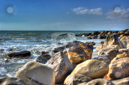 Seashore Details stock photo, Nice Detail of Rocky Seashore enhanced to HDR by Robert Ford