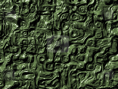 Slimy stock photo, Green slimy texture - 3d illustration by J?