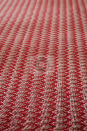 Carpet Zigzag Pattern stock photo,  by W. Paul Thomas