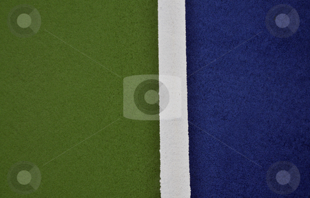Tennis Court stock photo,  by W. Paul Thomas