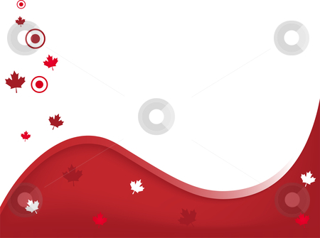 Canada Wavy Background stock vector clipart, Canada Background First of July by Augusto Cabral Graphiste Rennes