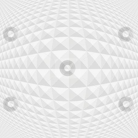 Grey cubes pattern stock photo, Seamless texture of many grey and white spherical shapes by Wino Evertz