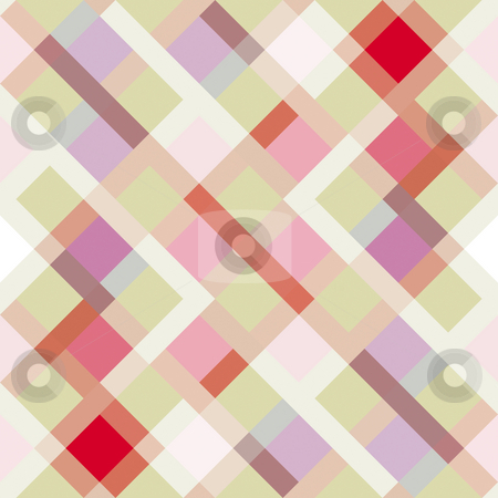 Diagonal block pattern stock photo, Seamless texture of block and stripes in pastel colors by Wino Evertz