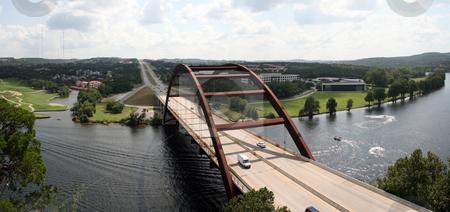 Austin 360 Bridge stock photo, The Austin 360 bridge from an artistic view. by Brandon Seidel