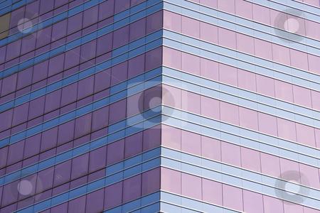 Building facade stock photo, Tall building facade by Ingvar Bjork