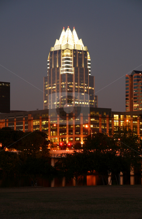 Downtown Austin, Texas at Night stock photo, A very pretty night in Austin, Texas. by Brandon Seidel