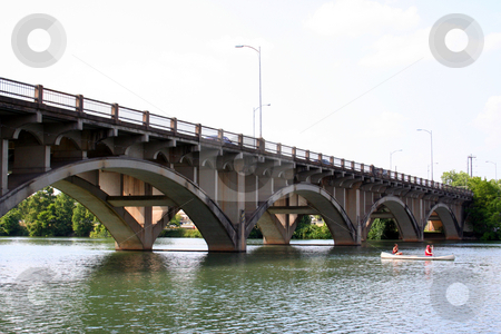 Bridge stock photo, A bridge in downtown Austin. by Brandon Seidel