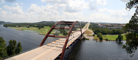 Austin 360 Bridge stock photo, The Austin 360 bridge from an artistic view. by Brandon Seidel