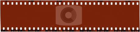 Blank 35mm Film stock photo, A strip of unused 35mm film. by Brandon Seidel