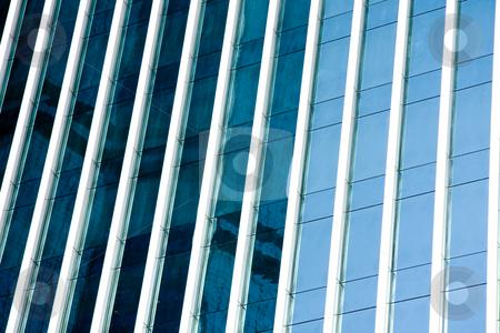Facade stock photo, Tall building facade by Ingvar Bjork