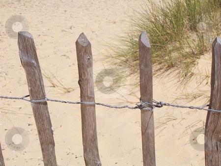 Beach Fence stock photo,  by Jack Richardson