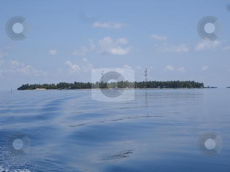 Distant Island stock photo,  by Jack Richardson