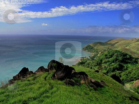 Fiji View stock photo,  by Ryan Dandy