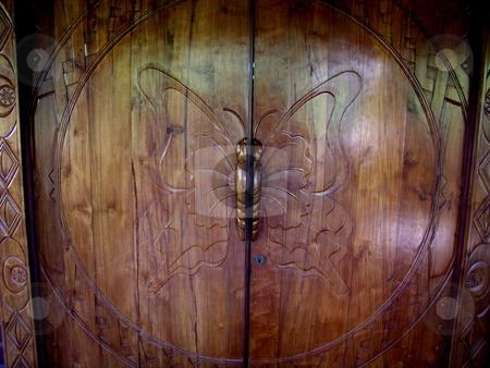 Butterfly Door stock photo,  by Ryan Dandy