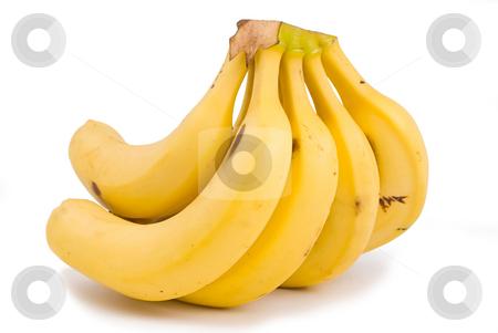 Banana, tropical fruit stock photo, Banana, tropical fruit with high potassium to sodium content by Lawren