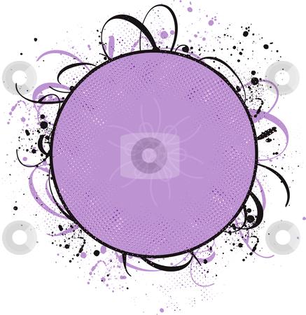 Design ornament stock vector clipart, Grunge design ornament, vector illustration by Rositsa Maslarska
