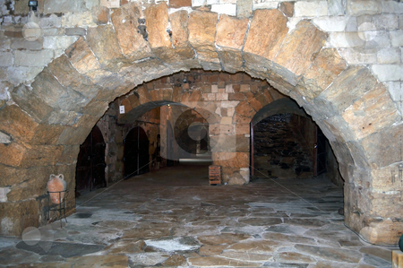 Fortification: Venetian castle (Koules), in Crete, Greece stock photo, Travel photography: Interior of Venetian fortress in the Island of Crete,   Greece by Fernando Barozza