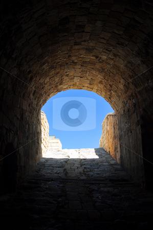 Fortification: Venetian castle (Koules), in Crete, Greece stock photo, Travel photography: Interior of Venetian fortress in the Island of Crete,   Greece by Fernando Barozza