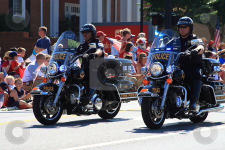 Cobb County Police stock photo, Fourth of July parade by Jack Schiffer