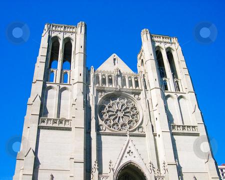 Church in San Francisco stock photo, Church in San Francisco California by Jaime Pharr