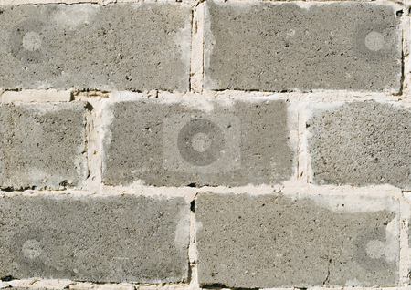 Wall from  block  stock photo, Wall from block concrete rectangle by Vladyslav Danilin