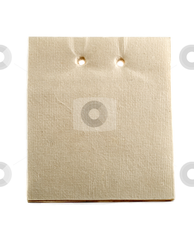 Note paper stock photo, Note paper close-up isolated on white background by Vladyslav Danilin