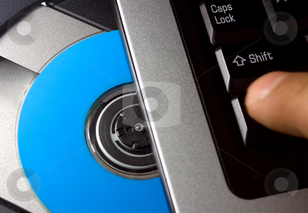 Computer software stock photo, Computer software and driver disc. by Vladyslav Danilin