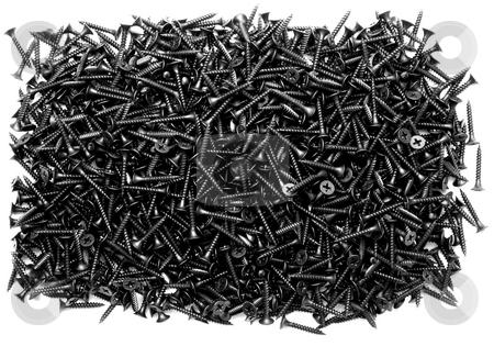 Screws stock photo, Screw isolated on white  background.screws  backgrounds by Vladyslav Danilin